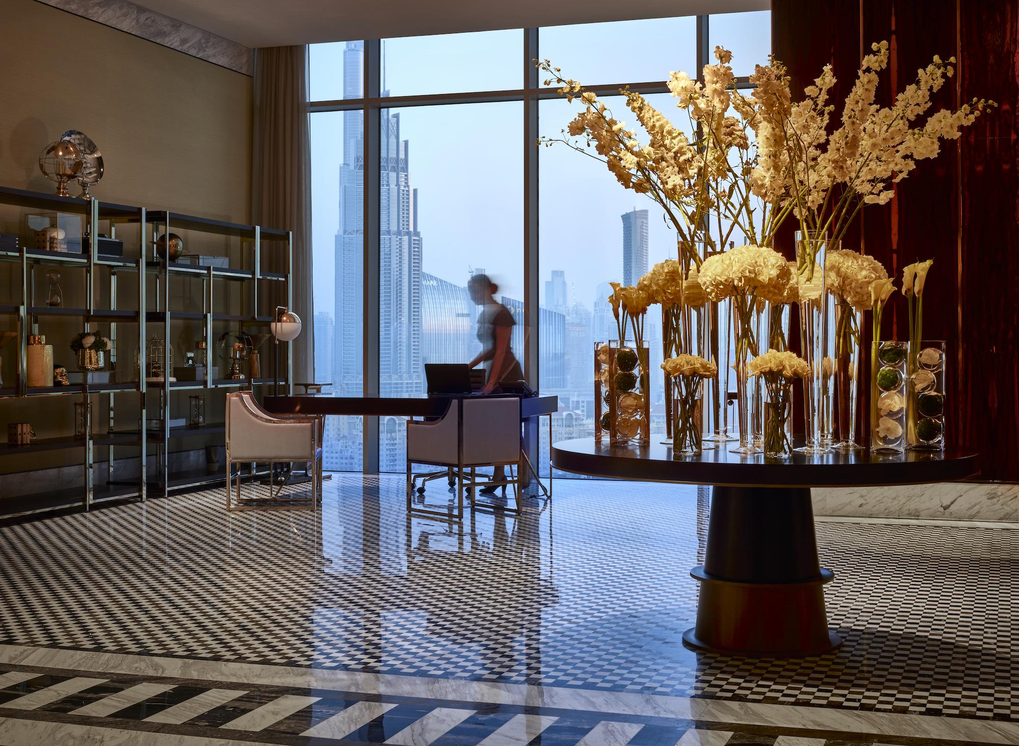 New Luxury Hotel Opens in Dubai Skyscraper