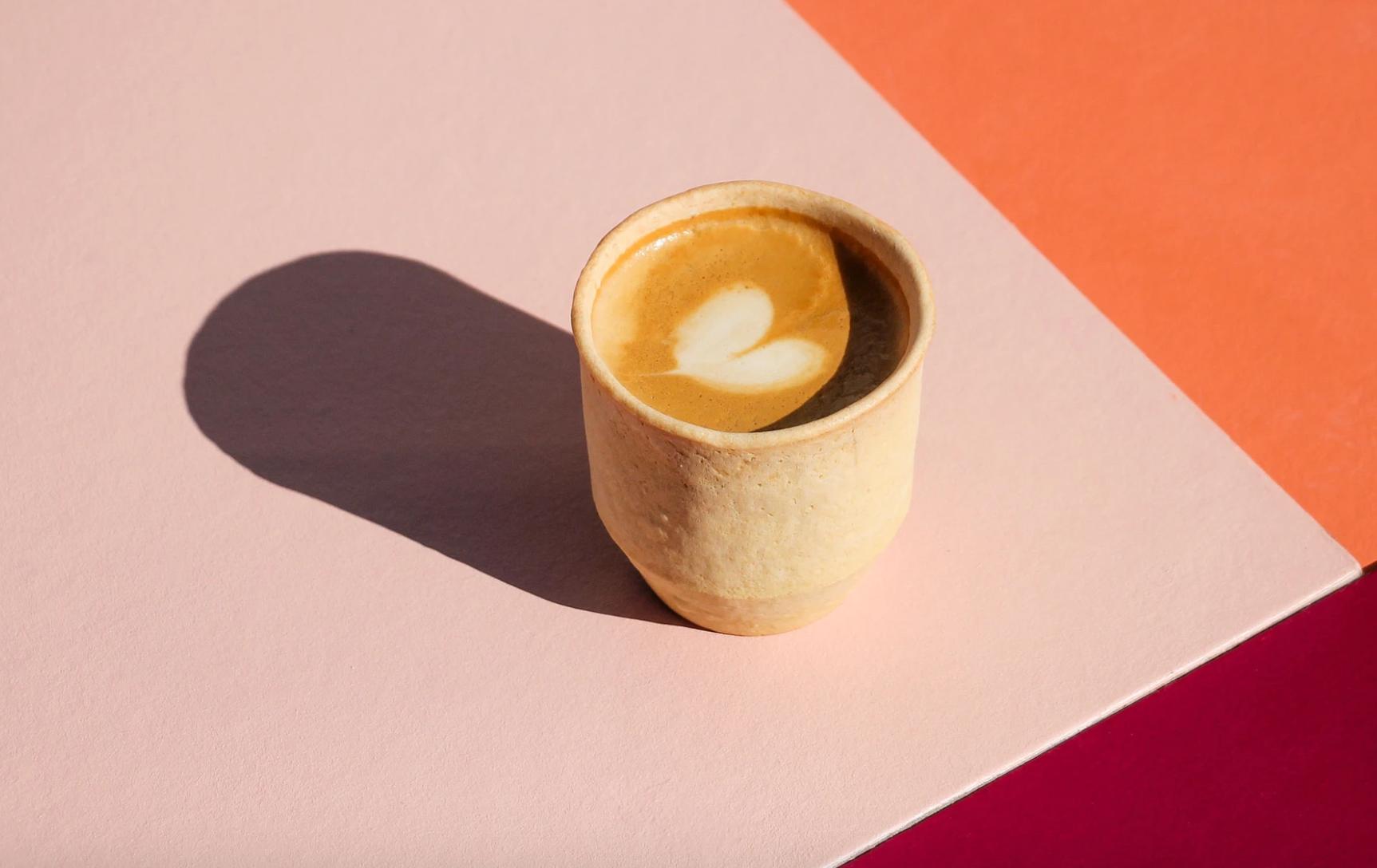 Nom Nom Nom: Edible Cups Make for a Tastier Drink
