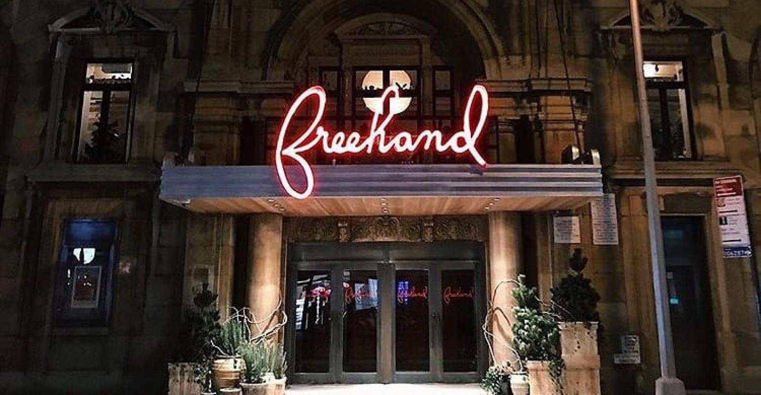 Freehand New York Opens In The Flatiron District Meetingsnet