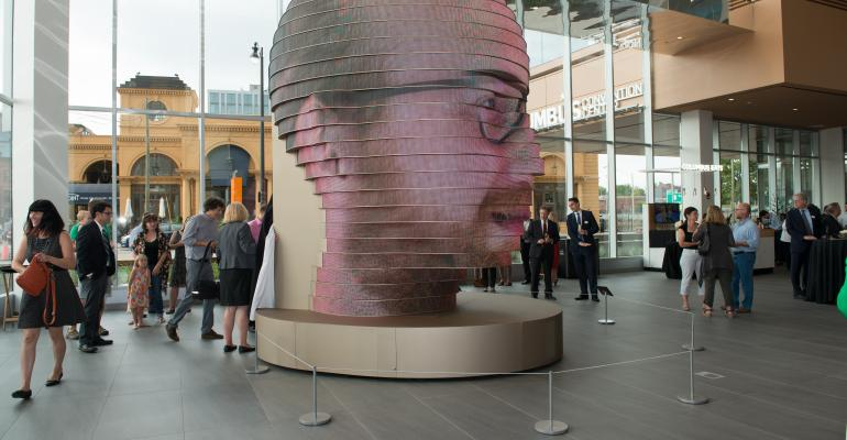 """The """"As We Are"""" art installation at the Greater Columbus Convention Center"""