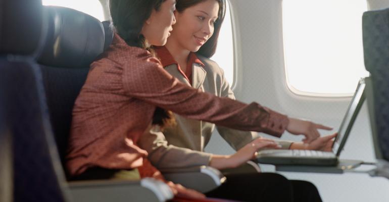 Aircraft cabin laptop ban