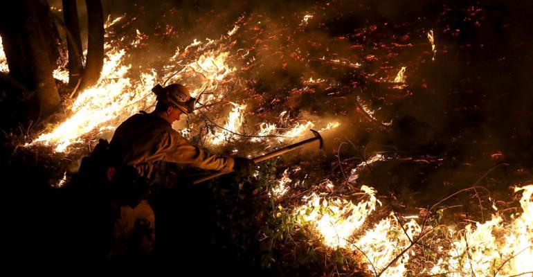 CalFire firefighter