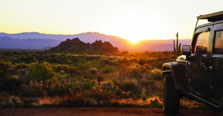 Jeep Scenic with Saguaro