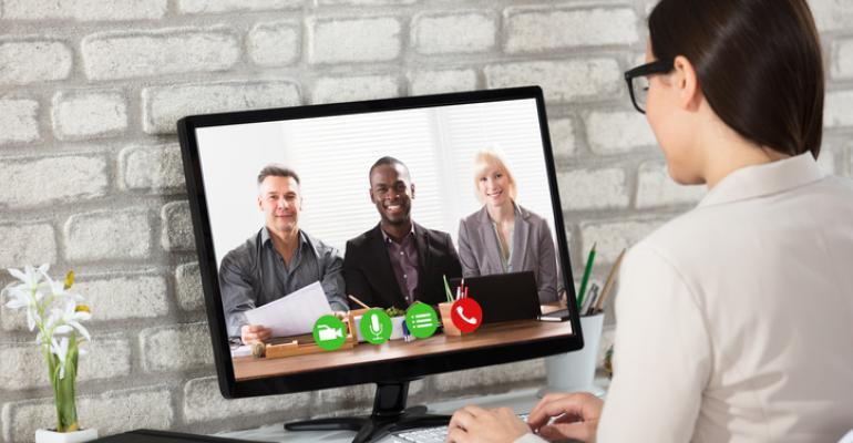 remote team web conference