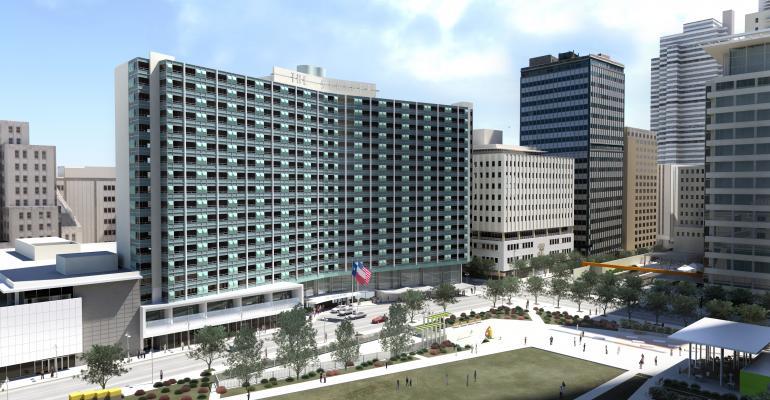 The Statler hotel, Dallas