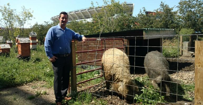 An urban farm supports Cleveland meetings and conventions