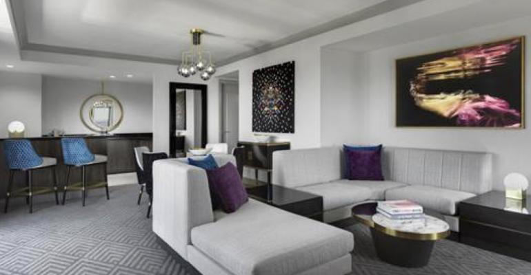 The Wraparound Terrace Suite at the Cosmopolitan of Las Vegas