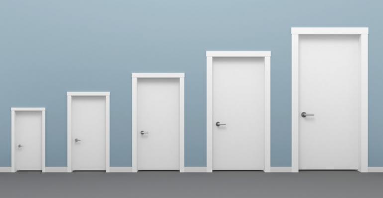 doors of different sizes