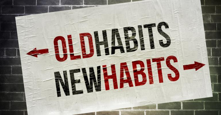 Old habits, new habits