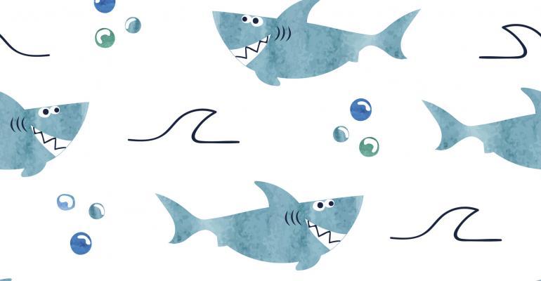 Happy sharks
