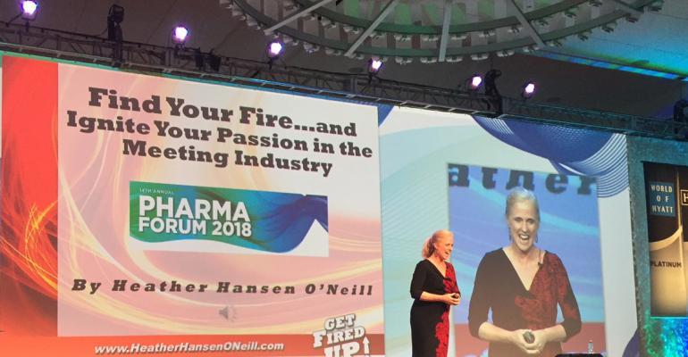 Heather Hanson O'Neill at Pharma Forum 2018