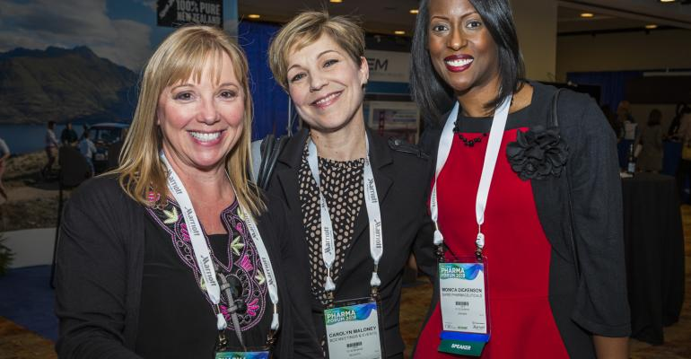 Lisa Truelove, Carolyn Maloney, and Monica Dickenson
