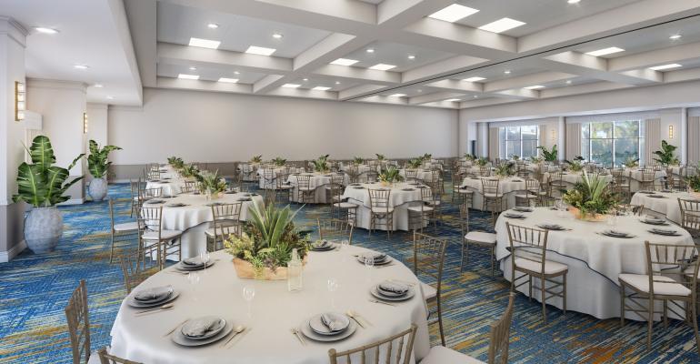 Sirata Beach Resort ballroom
