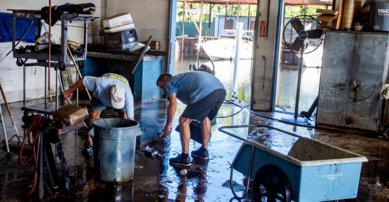 hurricane clean up
