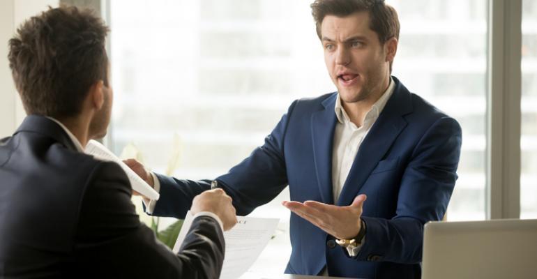 tense negotiation