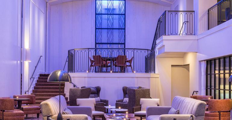 Theodore Hotel atrium