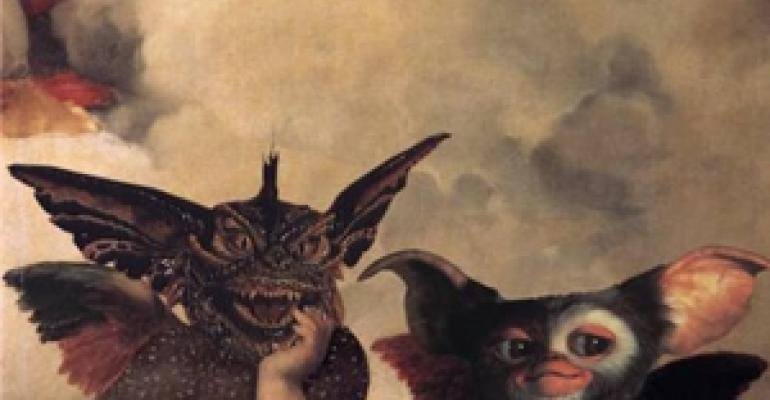 Off topic: Michelangelo's gremlins and other spooky stuff