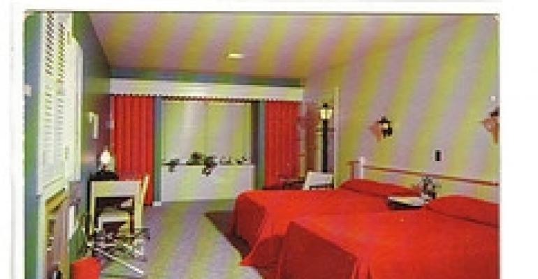 Vintage motel postcard collections
