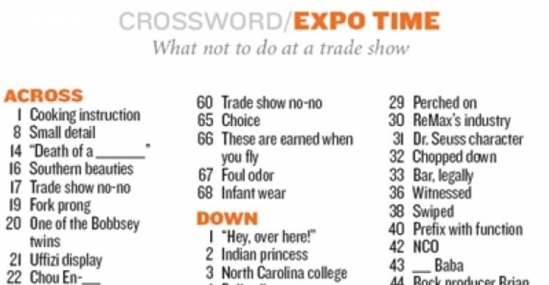 Crossword - March/April 2009