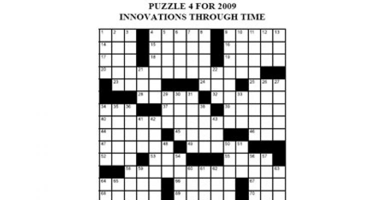 Crossword - July/August 2009