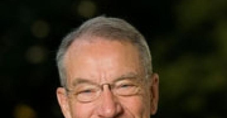 Grassley Questions Associations About Industry Funding