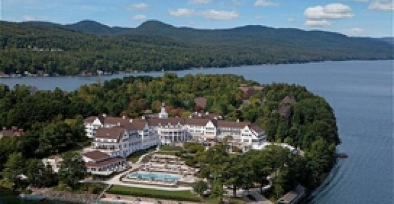 The Sagamore on New York's Lake George: Your Own Private Meeting Island