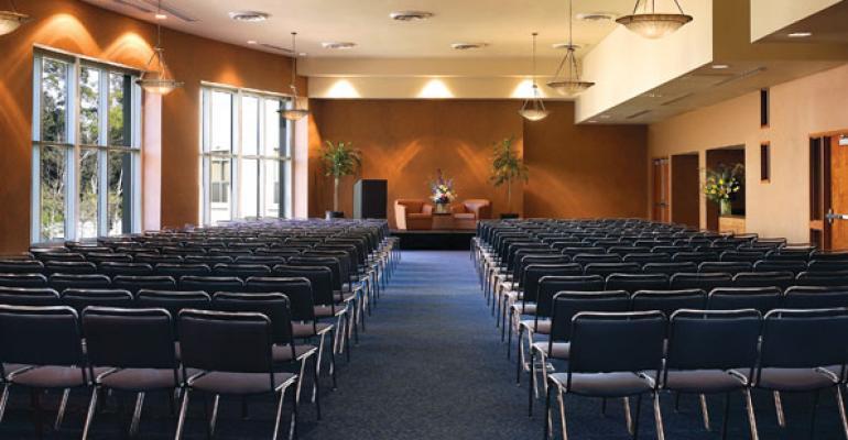 UCLA39s DeNeve Plaza Room