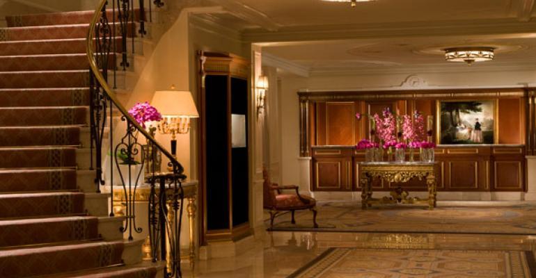 Taj Boston39s elegant lobby