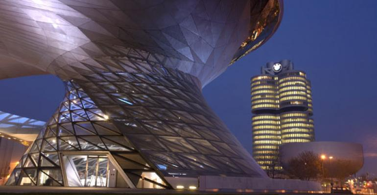 BMW Welt and Museum in Munich