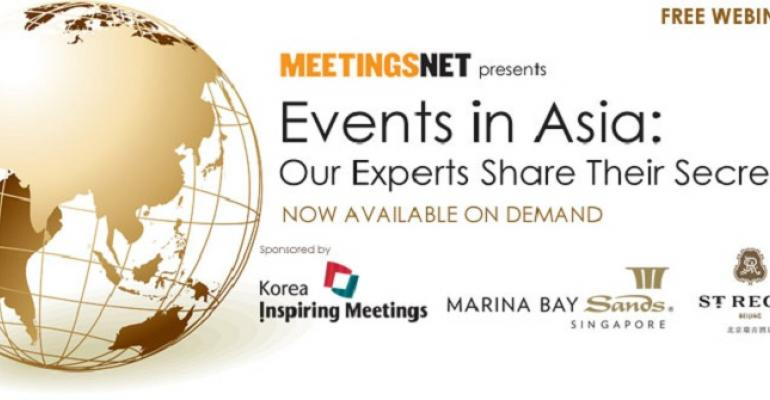 Events in Asia: Our Experts Share Their Secrets
