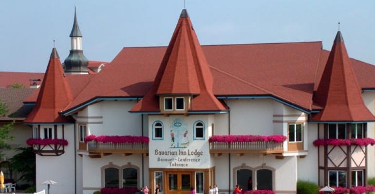 Bavarian Inn Lodge39s Conference Center entrance