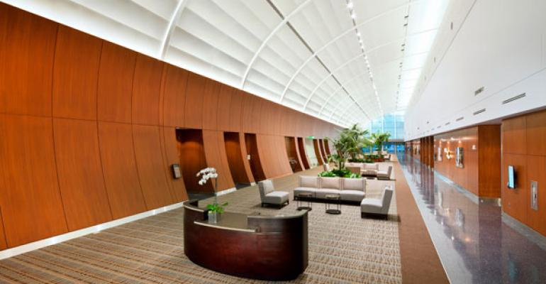 The Sheraton Fairplex Conference Center lobby