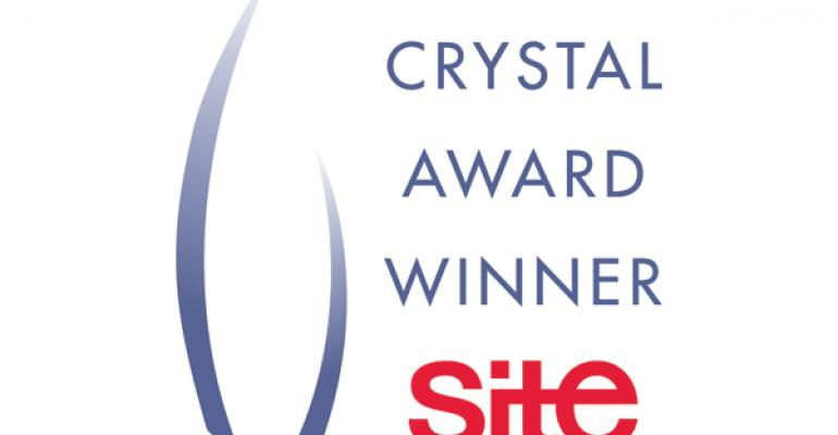 Site Honors 2012 Crystal Award Recipients