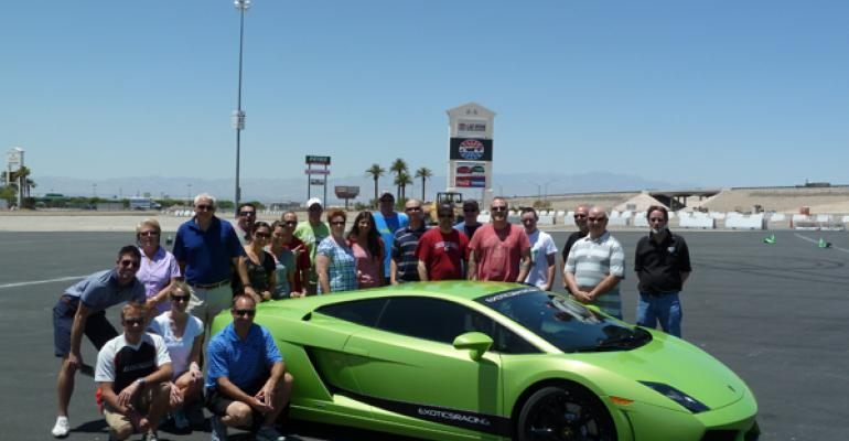 Nestleacute Purina PetCare takes its client event to Exotics Racing in Las Vegas
