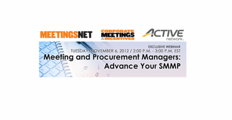 Meeting and Procurement Managers: Advance Your SMMP