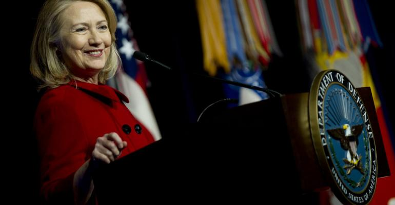 Hillary Clinton Joins the Speaker Circuit
