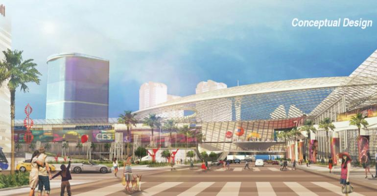 Conceptual drawing of the Las Vegas Global Business District