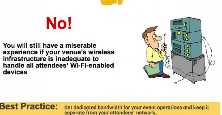 WI-FI PART ONE: Know Your Event's Bandwidth Needs