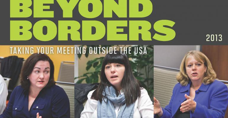 MeetingsNet's Beyond Borders Roundtable 2013
