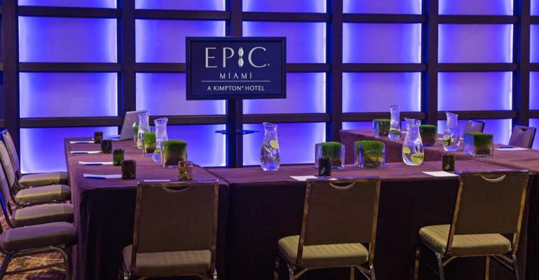 Kimpton's EPIC Hotel Expands Miami Meeting Spaces