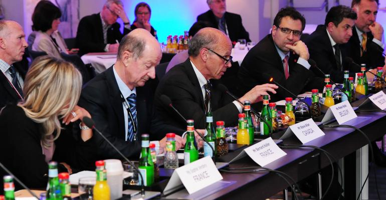Politicians from around the world came to IMEX Frankfurt to discuss and learn more about meetings