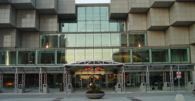Detroit39s Cobo Center which just announced new work rules is also adding new meeting space