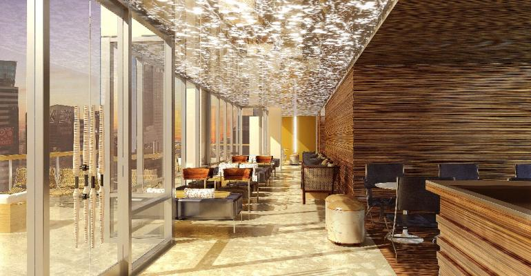 New Hyatt Times Square Features Diner and Rooftop Lounge