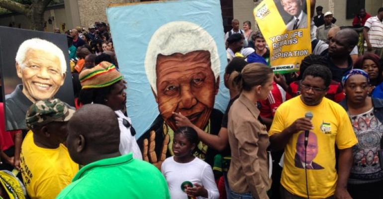 Mourning Mandela's Death by Celebrating His Life