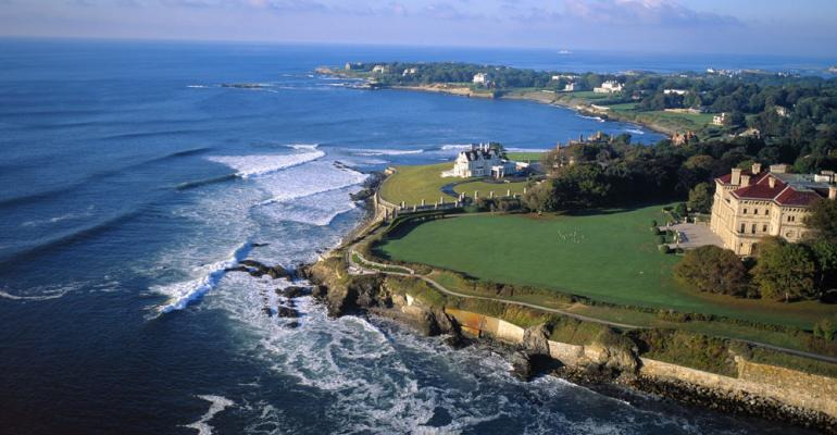 On Location: Newport and the Hotel Viking