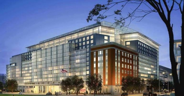 The recently opened 1175room Marriott Marquis Washington DC is the District39s largest hotel