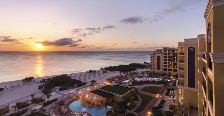 """The Ritz-Carlton Hotel Co. Takes Planners on a """"Meaningful Journey"""" to Aruba"""