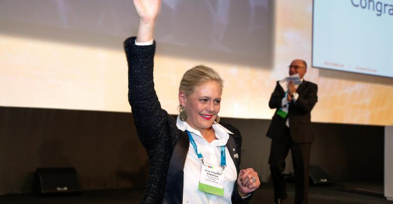 Nina FreysenPretorius founder and CEO of The Conference Company South Africa is the new president of ICCA