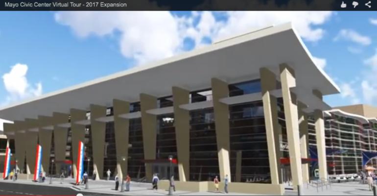 Mayo Civic Center Undergoing $79 Million Expansion