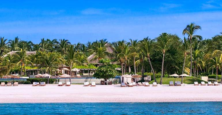 Pictured is the St Regis Punta Mita Resort